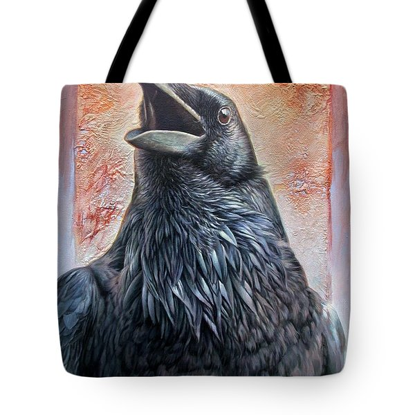 Raven Tote Bag by Hans Droog