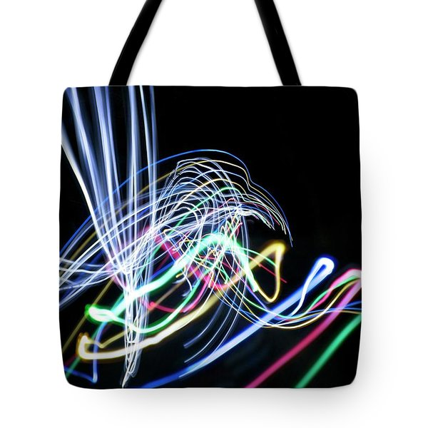 Raven In The Night Tote Bag