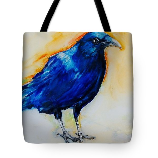 Crow Tote Bag by Jean Cormier