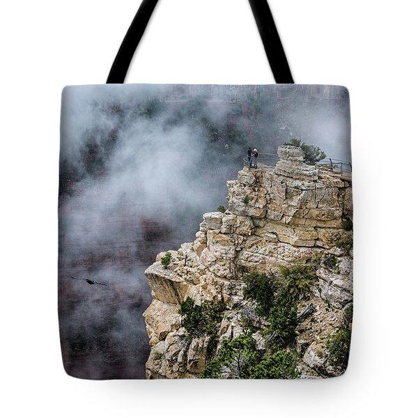Raven Knows The Canyon Magic Tote Bag