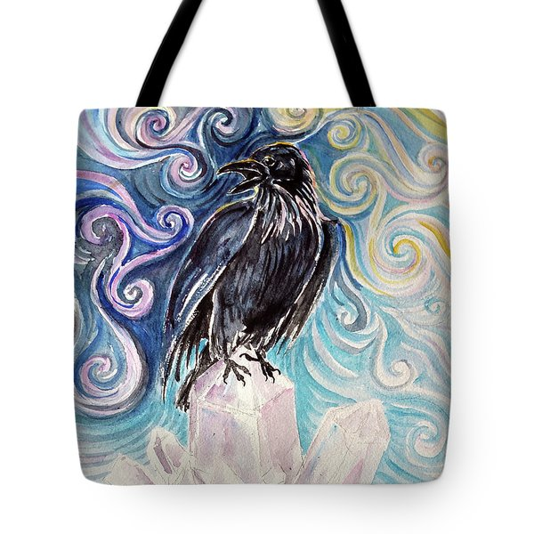 Raven Magic Tote Bag