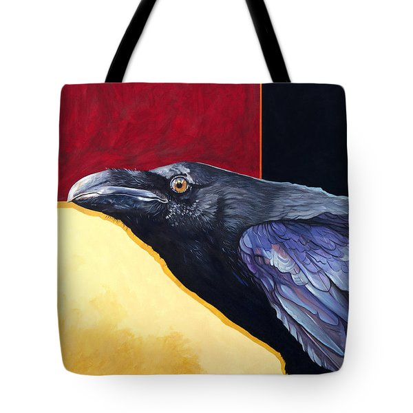 Raven Of The Tomorrow Wings Tote Bag