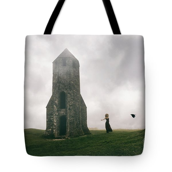 Raven Queen Tote Bag