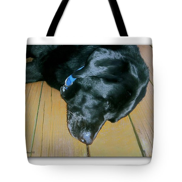 Raven Resting Tote Bag