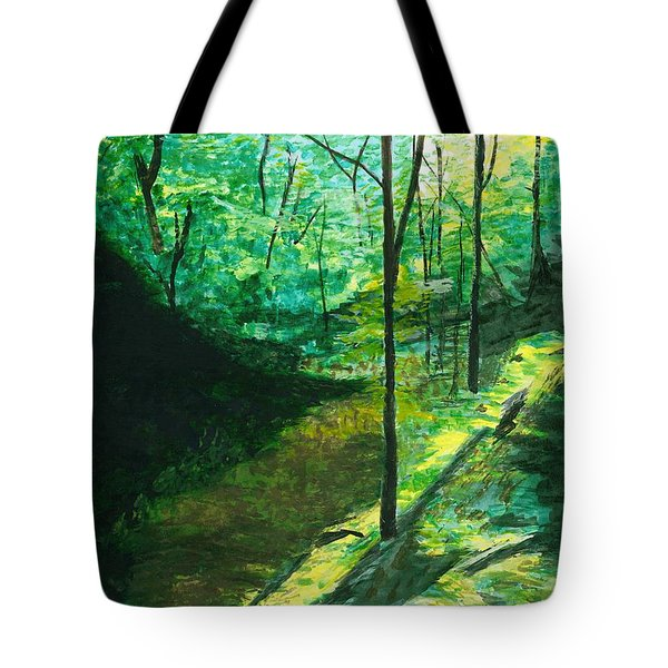 Raven Rocks 3 Tote Bag