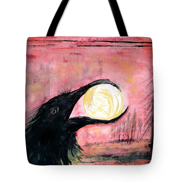 Raven Steals The Sun Tote Bag