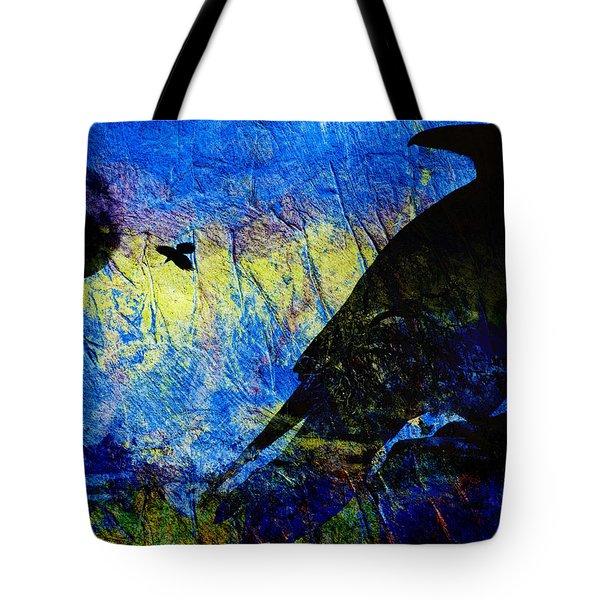 Raven Study 2 Tote Bag