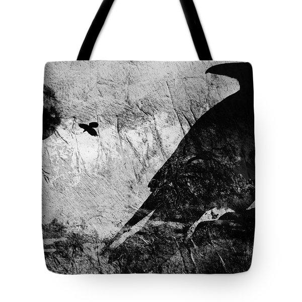 Raven Study 5 Tote Bag