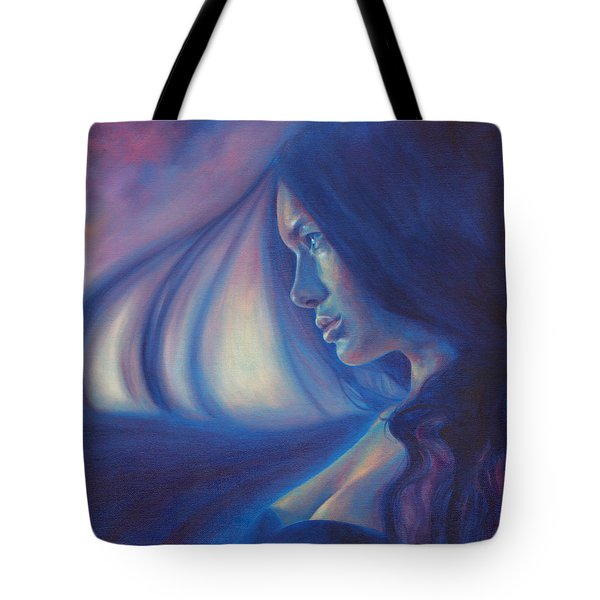Raven Sunrise Tote Bag by Ragen Mendenhall