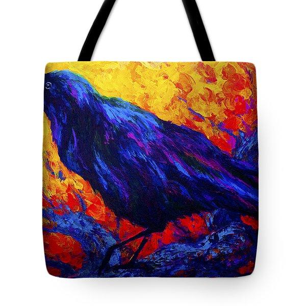 Raven's Echo Tote Bag