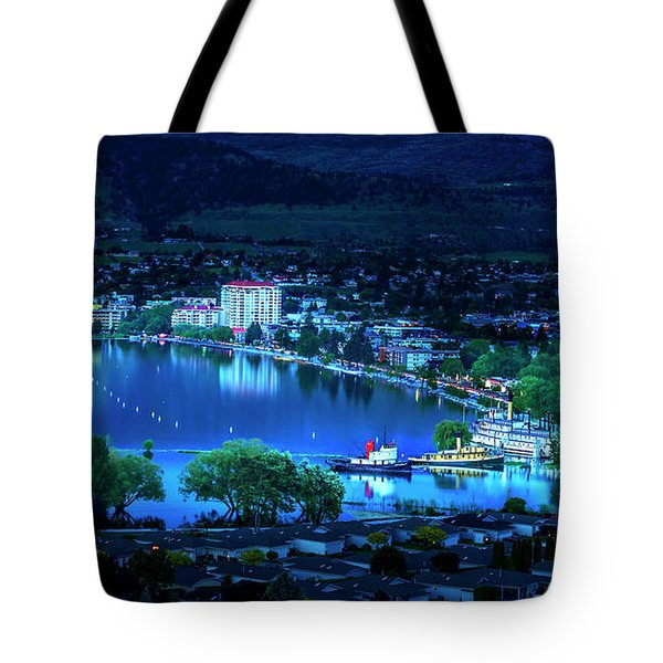 Tote Bag featuring the photograph Raven's Eye View by John Poon