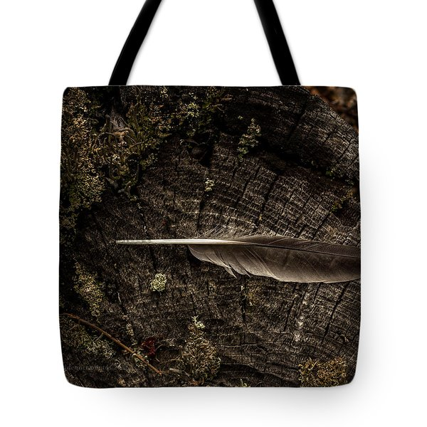 Ravens Feather Tote Bag