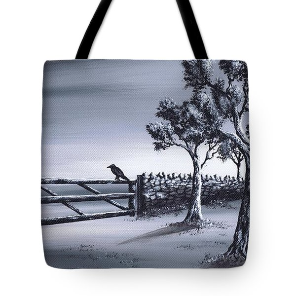 Ravens Gate Tote Bag by Kenneth Clarke