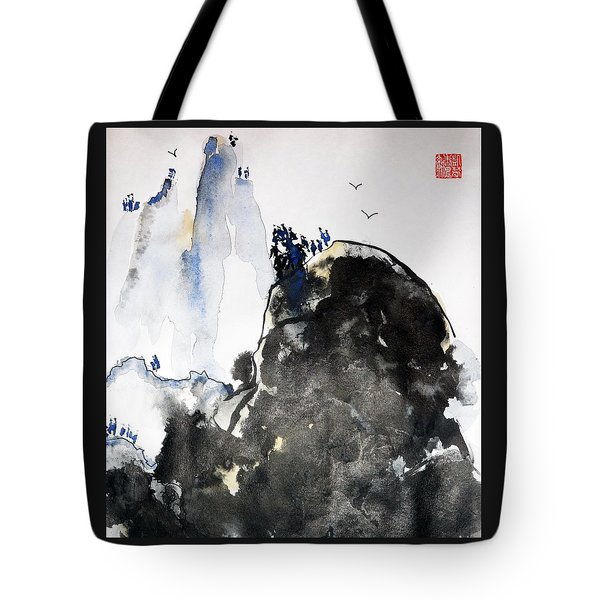Raven's Mountain Tote Bag