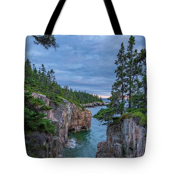 Raven's Nest Sunset Tote Bag