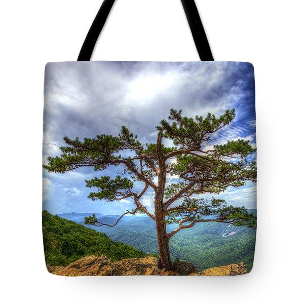 Ravens Roost Tree Tote Bag