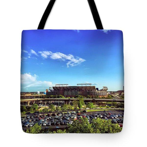Ravens Stadium Tote Bag