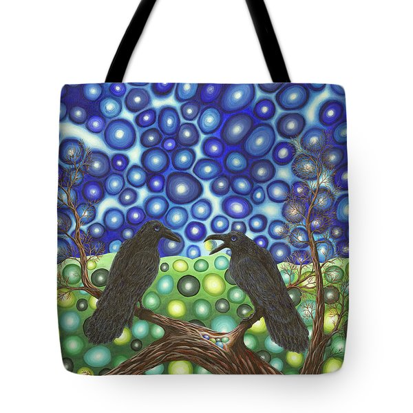 Raven's Tale Tote Bag