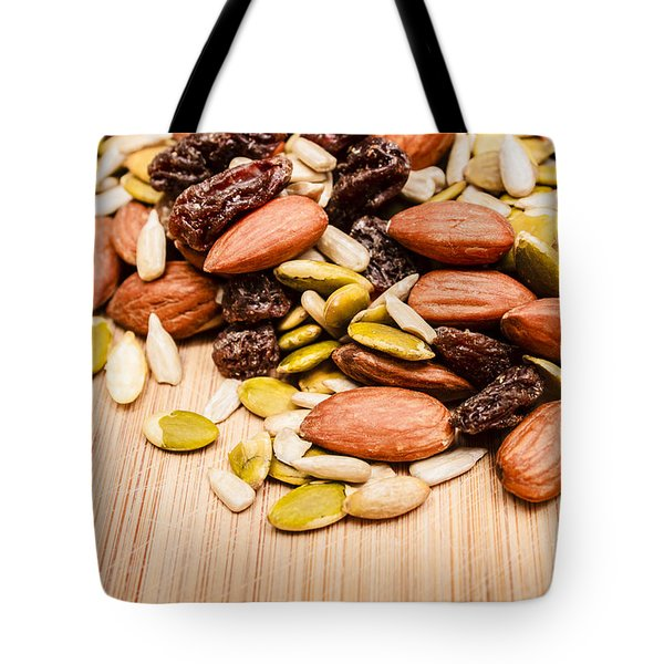 Raw Organic Nuts And Seeds Tote Bag