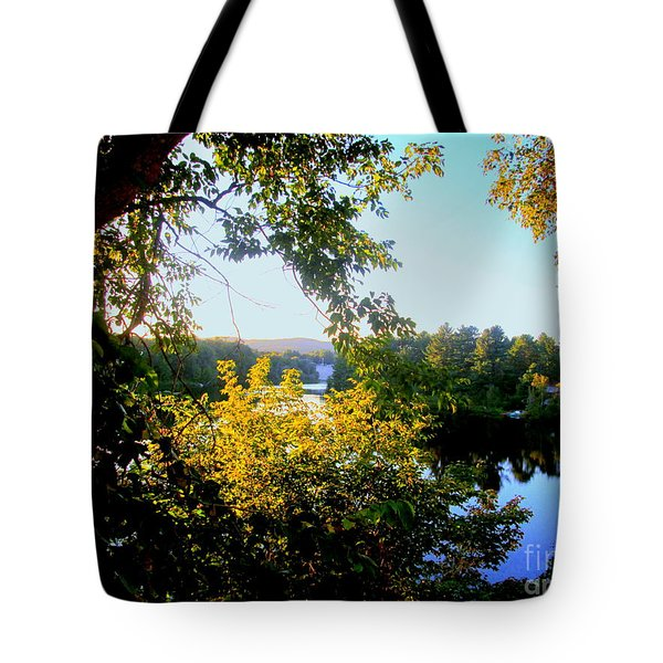 Tote Bag featuring the photograph Rawdon by Elfriede Fulda