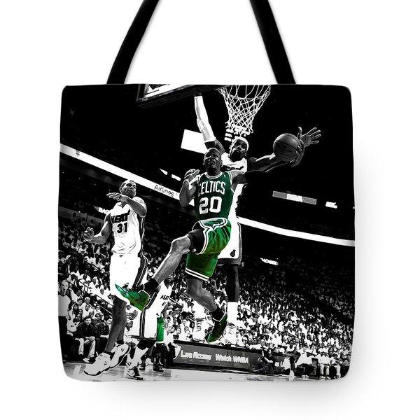 Ray Allen 2c Tote Bag