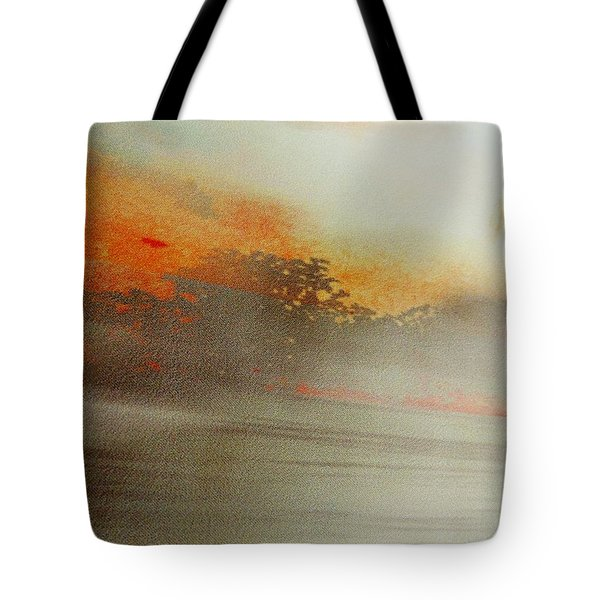 Rayon Abstract  Tote Bag