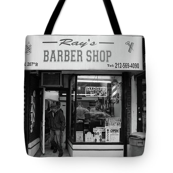Ray's Barbershop Tote Bag