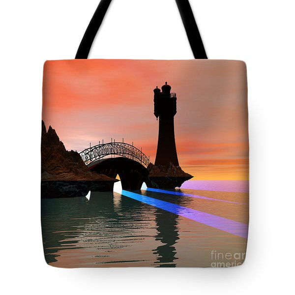 Rays Tote Bag by Corey Ford