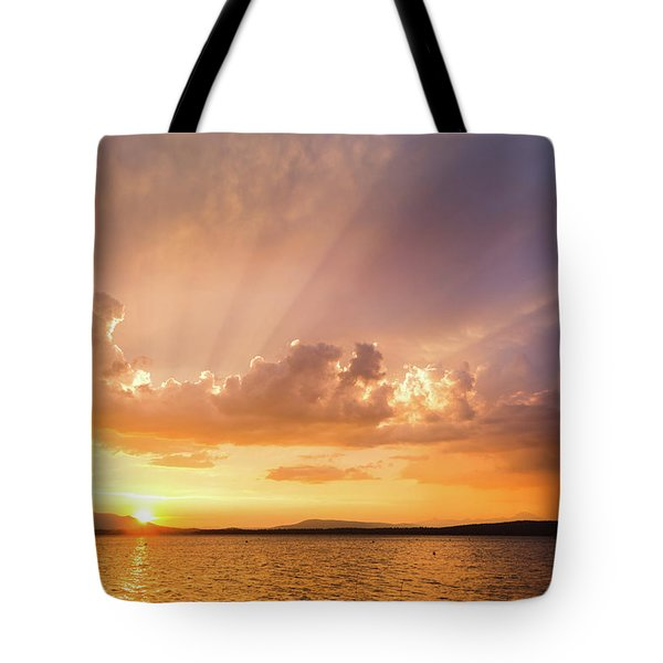 Rays Of Hope Tote Bag