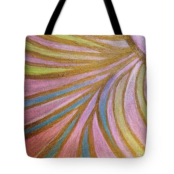 Rays Of Hope Tote Bag by Rachel Hannah