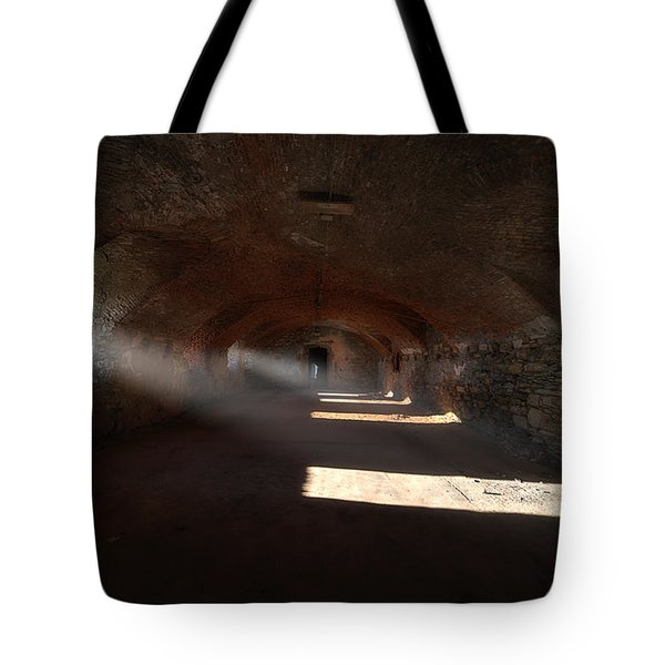 Tote Bag featuring the photograph Rays Of Light - Raggi Di Luce by Enrico Pelos