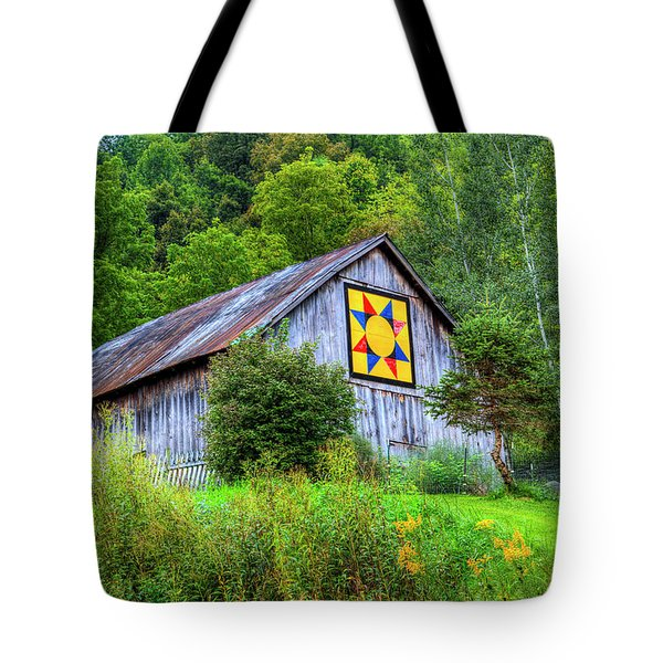 Rays Star Tote Bag