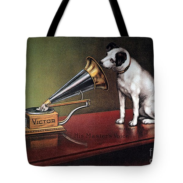 Rca Victor Trademark - To License For Professional Use Visit Granger.com Tote Bag