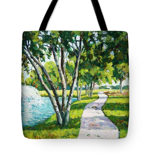 Rcc Golf Course Tote Bag
