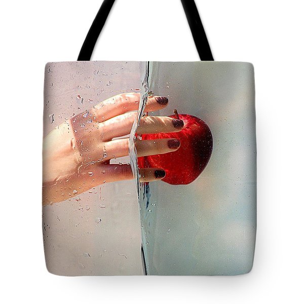 Reach For The Apple Tote Bag