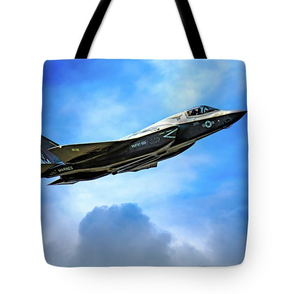 Reach For The Skies Tote Bag