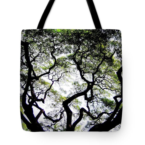 Reach For The Sky Tote Bag by Karen Wiles