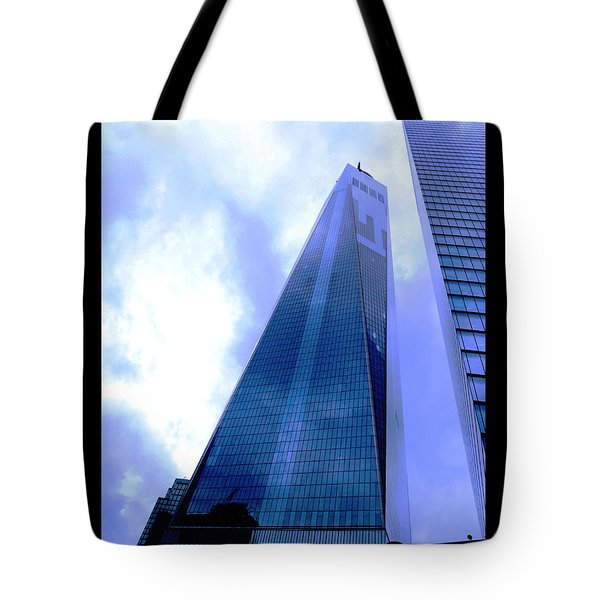 Tote Bag featuring the photograph Reach For The Sky. by Steve Godleski