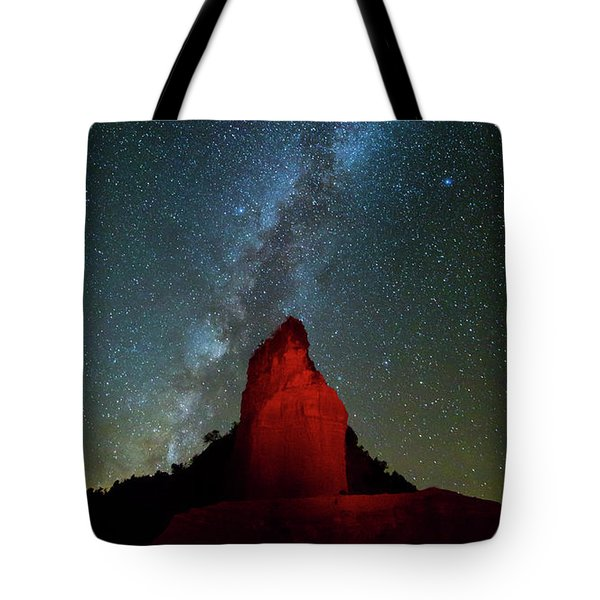 Tote Bag featuring the photograph Reach For The Stars by Stephen Stookey