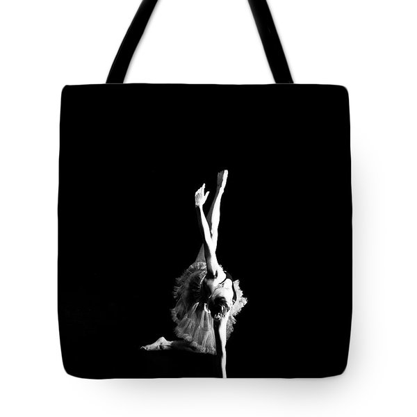 Reaching Ballerina Tote Bag