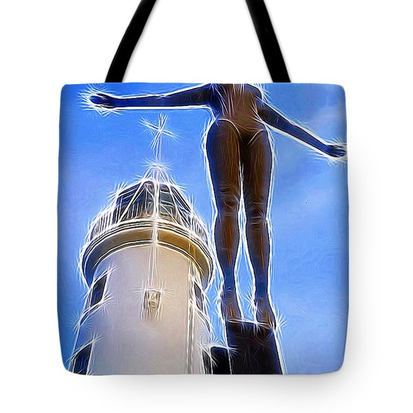 Reaching For Gold Tote Bag