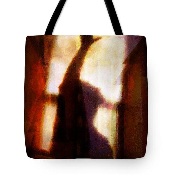 Reaching For The Light Tote Bag by Gun Legler
