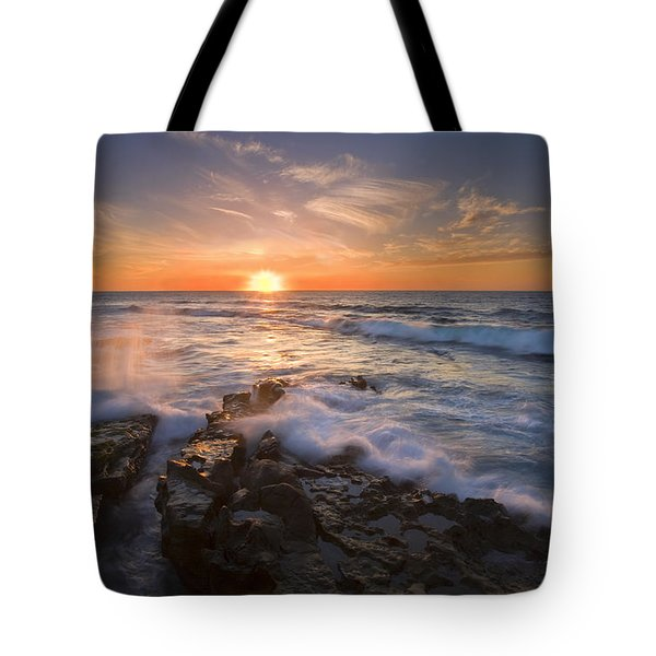 Reaching For The Sun Tote Bag by Mike  Dawson