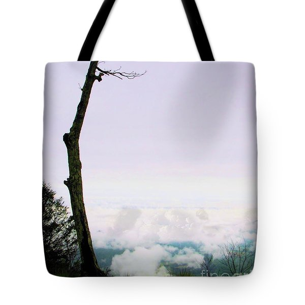 Reaching In The Shenandoah Tote Bag
