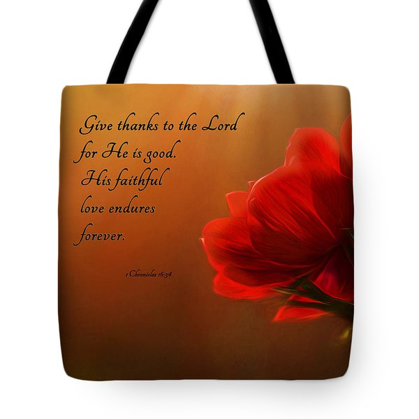 Reaching Inspiration Tote Bag by Mary Jo Allen