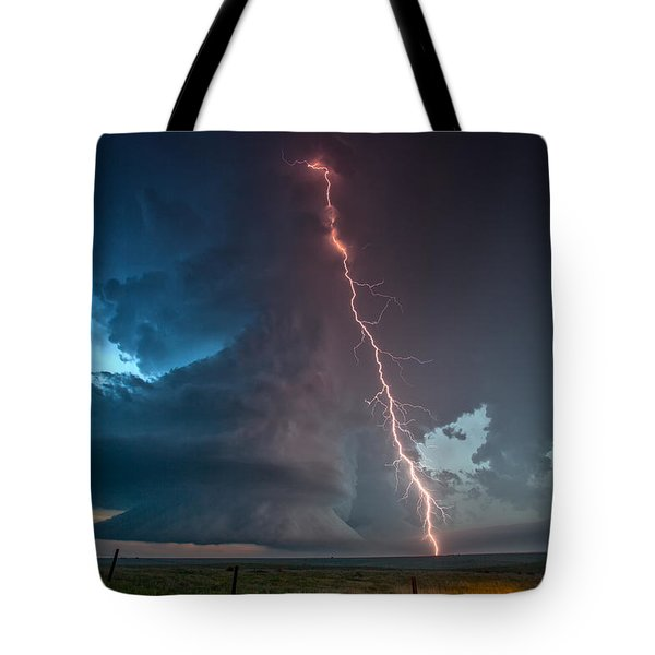 Reaching Tote Bag by James Menzies