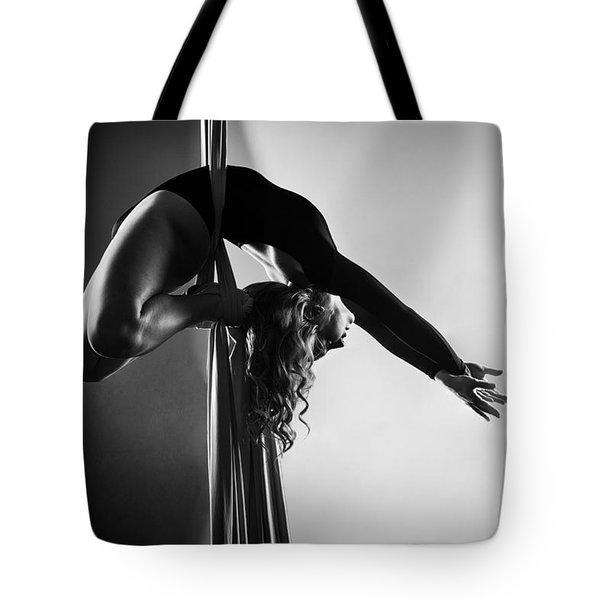 Reaching Light Tote Bag