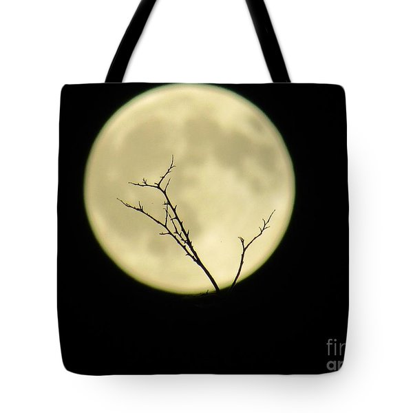 Reaching Out Into The Night Tote Bag