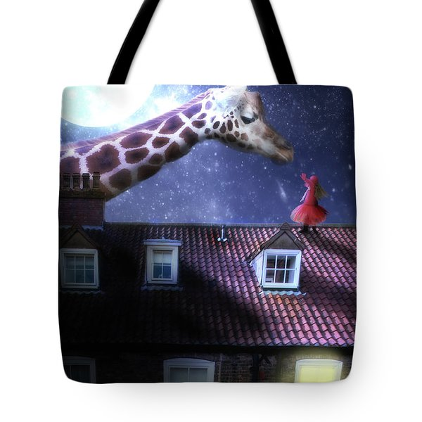 Reaching Out Tote Bag by Nathan Wright