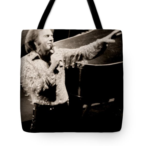 Reaching Out Tote Bag by Ron Chambers